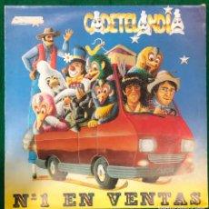Discos de vinilo: CADETELANDIA- Nº 1 EN VENTAS LP DE 1990 RF-8813. Lote 224824532