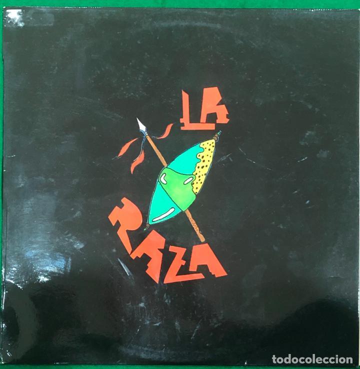 LA RAZA - 4º CONCURSO DE MAQUETAS RADIO ASTURIAS LP MAXI SINGLE DE 1987 RF-8815 , BUEN ESTADO (Música - Discos de Vinilo - Maxi Singles - Grupos Españoles de los 70 y 80)