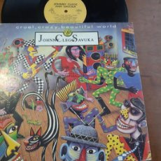 Discos de vinilo: JOHNNY CLEGG & SAVUKA-CRUEL, CRAZY, BEAUTIFUL WORLD. MÁXI ITALIA-. Lote 224829895