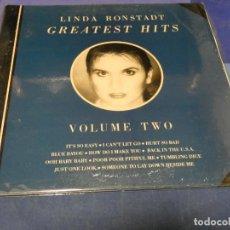 Discos de vinilo: PACC93 LP DAMA DEL COUNTRY USA 1978 LINDA RONSTADT GREATEST HITS VOL 2 USA 78 BUEN ESTADO. Lote 224830443