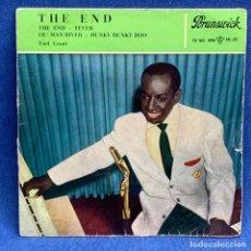 Discos de vinilo: SINGLE EARL GRANT  - THE END - ESPAÑA - AÑO 1960. Lote 224837457