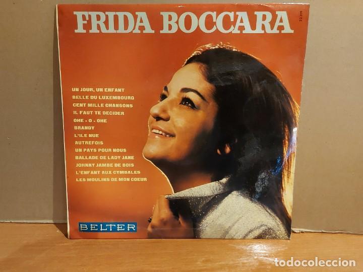 Discos de vinilo: RARO !! FRIDA BOCCARA / UN JOUR, UN ENFANT / LP - BELTER-1969 / CALIDAD LUJO ****/**** MUY DIFÍCIL. - Foto 2 - 224840513