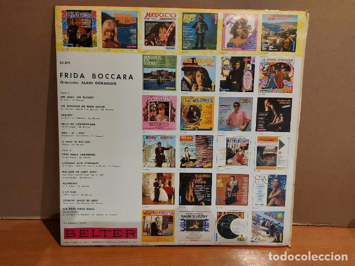 Discos de vinilo: RARO !! FRIDA BOCCARA / UN JOUR, UN ENFANT / LP - BELTER-1969 / CALIDAD LUJO ****/**** MUY DIFÍCIL. - Foto 3 - 224840513