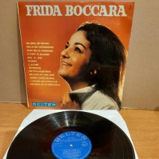 Discos de vinilo: RARO !! FRIDA BOCCARA / UN JOUR, UN ENFANT / LP - BELTER-1969 / CALIDAD LUJO ****/**** MUY DIFÍCIL.. Lote 224840513