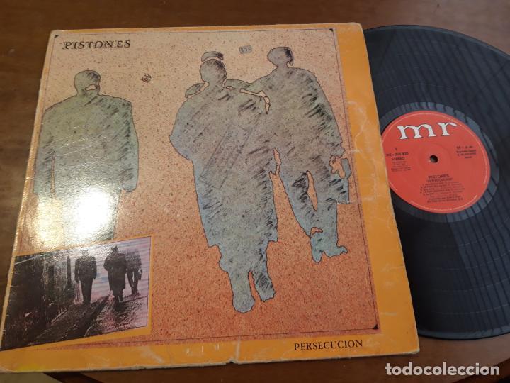 PISTONES – PERSECUCION-LP-ESPAÑA- MR-ME-205820-1983- (Música - Discos - LP Vinilo - Grupos Españoles de los 70 y 80)