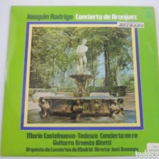 Discos de vinilo: LP VINILO- JOAQUÍN RODRIGO CONCIERTO DE ARANJUEZ. Lote 224857340