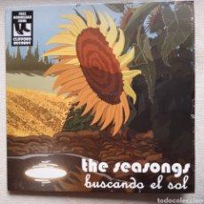 Discos de vinilo: THE SEASONGS – BUSCANDO EL SOL. LP. CÓDIGO DESCARGA INCLUÍDO. Lote 224737218