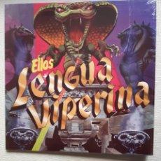 "Discos de vinilo: ELLOS – LENGUA VIPERINA. VINYL, 12"", MAXI-SINGLE, 45 RPM. 2013. Lote 224739107"