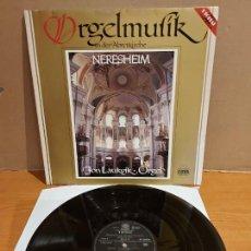 Discos de vinilo: ORGELMUSIK IN DER ABTEIKIRCHE / NERESHEIM / LP-GATEFOLD-MOTETTE / CALIDAD LUJO. ****/****. Lote 224861998