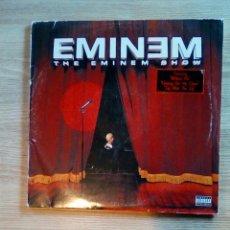 Discos de vinilo: EMINEM – THE EMINEM SHOW, AFTERMATH ENTERTAINMENT – 493 290-1, 2 × VINYL, 2002. EUROPE. Lote 240189355