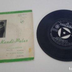 Discos de vinilo: LOS KANDI - PALAS SINGLE LOCA POR MI Y TRES TEMAS MÁS 1962. Lote 224877987