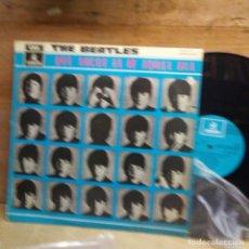 Discos de vinilo: THE BEATLES -QUE NOCHE LA DE AQUEL DIA-. Lote 224891275