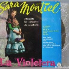 Discos de vinilo: LP. SARA MONTIEL. LA VIOLETERA. Lote 224892233