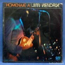 Discos de vinilo: LP - VINILO HOMENAJE A JIMI HENDRIX - ESPAÑA - AÑO 1973. Lote 224895437