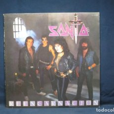Discos de vinilo: SANTA - REENCARNACION - LP. Lote 224900452