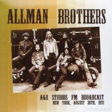 Discos de vinilo: THE ALLMAN BROTHERS BAND 2LP * A&R STUDIOS FM NEW YORK 1971 *PRECINTADO * 500 COPIAS!!. Lote 224904880