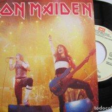 Discos de vinilo: IRON MAIDEN RUNNING FREE SINGLE EDICION DE ESPAÑA AÑO 1.985. Lote 224904983