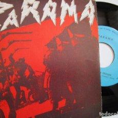 Discos de vinilo: ZARAMA ZARAMAREN ERDIAN VER LAS FOTOS. Lote 224905797