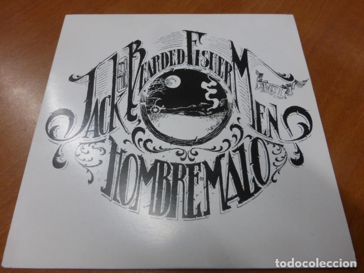 JACK AND THE BEARDED FISHERMEN / HOMBRE MALO ‎– SPIES OF CONGRESS / A DESERT FOR A MAN. VINILO (Música - Discos - Singles Vinilo - Heavy - Metal)