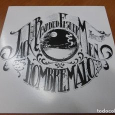 Discos de vinilo: JACK AND THE BEARDED FISHERMEN / HOMBRE MALO ‎– SPIES OF CONGRESS / A DESERT FOR A MAN. VINILO. Lote 224912467