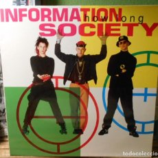 Discos de vinilo: INFORMATION SOCIETY HOW LONG LP VINILO SPAIN 1991. Lote 224912597