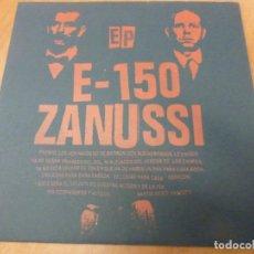 Discos de vinilo: E-150* / ZANUSSI -DEJEMOS EL PESIMISMO PARA TIEMPOS MEJORES EP. GRINDCORE. Lote 224914378