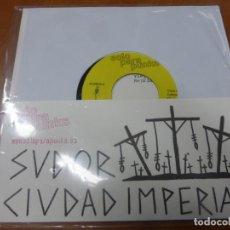 Discos de vinilo: SUDOR - CIUDAD IMPERIAL. SOLO PARA PUNKS . EP VINILO. Lote 224914871