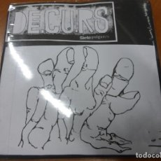 Discos de vinilo: DE.CU.RS – SIETE PULGARES . EP VINILO. Lote 224915102