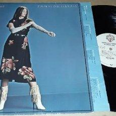 Discos de vinilo: LP - EMMYLOU HARRIS - EVANGELINE - MADE IN GERMANY. Lote 224917161