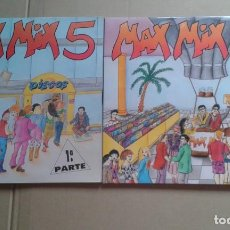 Dischi in vinile: MAX MIX 5 1º Y 2º PARTE 4 LP´S. Lote 224917601