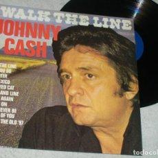 Discos de vinilo: JOHNNY CASH - I WALK THE LINE ..LP DE HALLMARK RECORDS - ENGLAND - COMO NUEVO. Lote 224918676