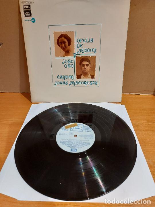 OFELIA DE ARAGÓN Y JOSÉ OTO CANTAN JOTAS ARAGONESAS / LP-PROMO - REGAL-1973 / LUJO. ****/**** (Música - Discos - LP Vinilo - Country y Folk)