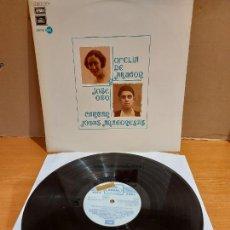 Discos de vinilo: OFELIA DE ARAGÓN Y JOSÉ OTO CANTAN JOTAS ARAGONESAS / LP-PROMO - REGAL-1973 / LUJO. ****/****. Lote 224922285