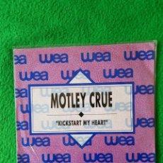 Discos de vinilo: MOTLEY CRUE HEAVY METAL PROMO EN OFERTA OPORTUNIDAD COLECCIONISTAS. Lote 224970835