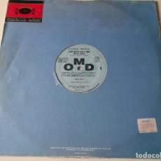 Discos de vinilo: OMD. ONE MAD DAY,PART ONE Y PART TWO, 1991, USA. Lote 224975635