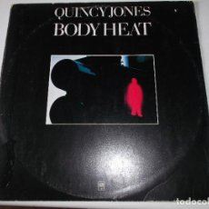 Discos de vinilo: QUINCY JONES,BODY HEAT, ED ESPAÑOLA 1974. Lote 224980017
