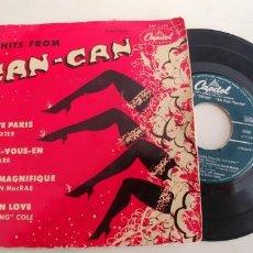 Disques de vinyle: CAN CAN-EP CANEP I LOVE PARIS-LES BAXTER ALLEZ-VOUS-EN-KAY STARR. Lote 224997541