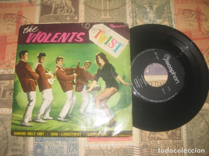 THE VIOLENTS DARLING NELLY GREY (DISCOPHON 1962 ) OG ESPAÑA LEA DESCRIPCION (Música - Discos de Vinilo - EPs - Rock & Roll)
