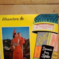 Discos de vinilo: SOUVENIR FROM SPAIN N.21 BAILES Y CANTOS DE ANDALUCIA .FANDANGOS DE HUELVO. Lote 225006361