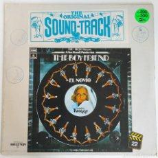 Discos de vinilo: LP THE BOYFRIEND - ORIGINAL SOUND TRACK/1982 - ESPAÑA. Lote 225008290