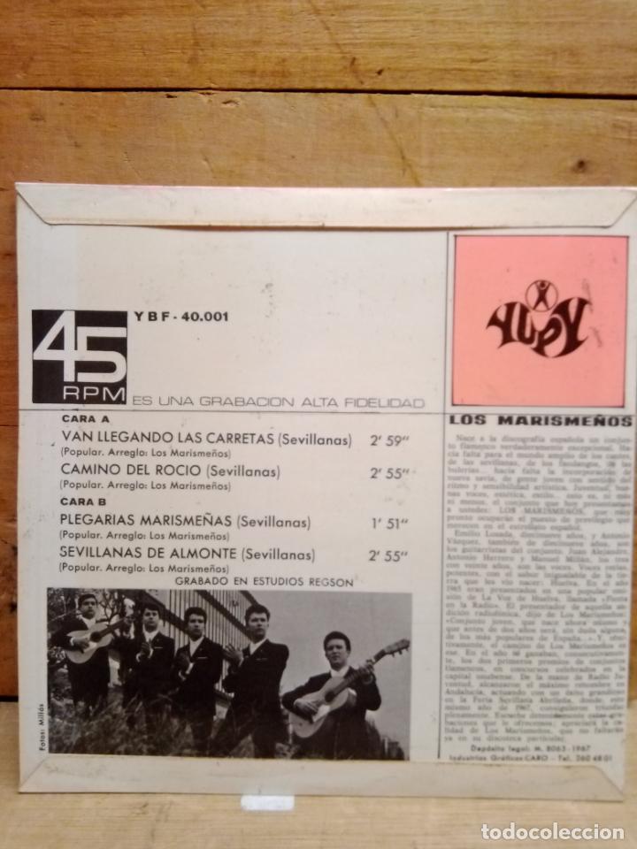 Discos de vinilo: LOS MARISMEÑOS DISCO 4 CANCIONES - Foto 3 - 225014181