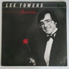 "Discos de vinilo: LP LEE TOWERS ""ABSOLUTELEE"" - 1981HOLLAND. Lote 225016390"