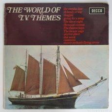 Discos de vinilo: LP THE WORLD OF TV THEMES - DECCA. Lote 225016595
