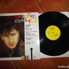 Discos de vinilo: ÉTIENNE DAHO TOMBE POUR LA FRANCE MAXI SINGLE VINILO 1985 FRANCIA DUO FRANÇOISE HARDY 4 TEMAS. Lote 225022120