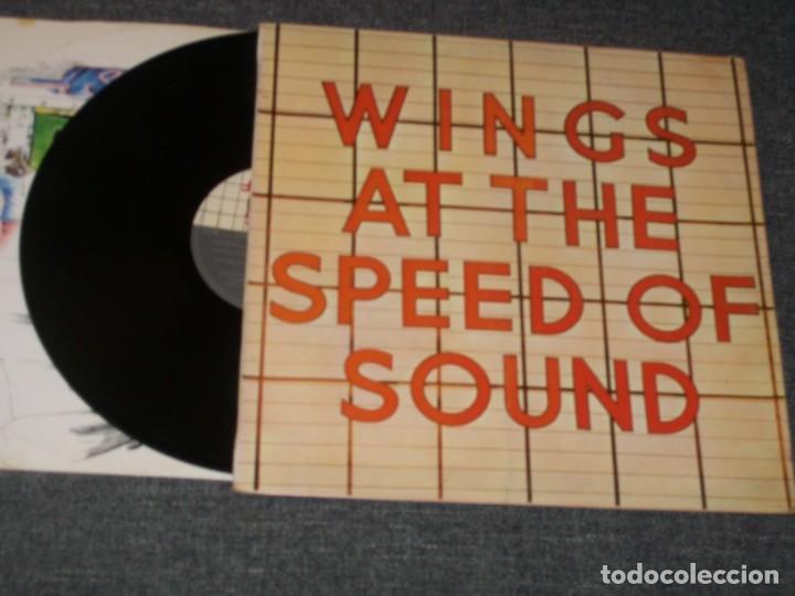 WINGS – ( BEATLES ) - AT THE SPEED OF SOUND - LP DE 1976 CON ENCARTE ..1ª EDICION - MUY BUEN ESTADO (Música - Discos - Singles Vinilo - Techno, Trance y House)
