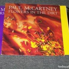 Discos de vinilo: PAUL MCCARTNEY - ( BEATLES ) - FLOWERS IN THE DIRT - EMI DE 1989 CON ENCARTE. Lote 225031626
