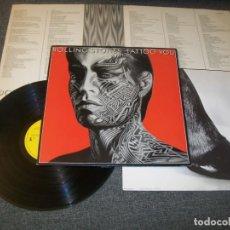Discos de vinilo: THE ROLLING STONES - TATTOO YOU - LP DE CBS - COMPLETO - MUY BUEN ESTADO. Lote 225037708