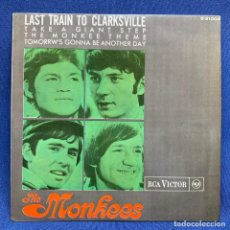Discos de vinilo: EP THE MONKEES – LAST TRAIN TO CLARKSVILLE - ESPAÑA - AÑO 1966. Lote 225039822