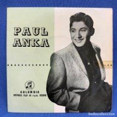 Discos de vinilo: EP PAUL ANKA - DIANA - UK - AÑO 1957. Lote 225042321