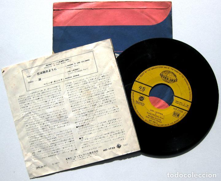Discos de vinilo: Marisa Sannia - LAmore È Una Colomba / Una Lacrima (Peret Cover) - Single Seven Seas 1970 Japan BPY - Foto 2 - 225043575
